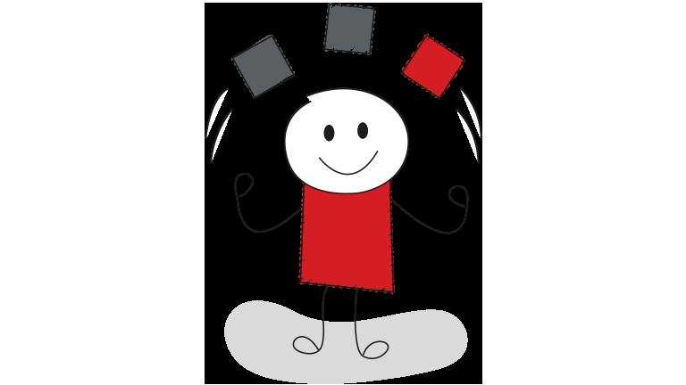Stickman Juggling
