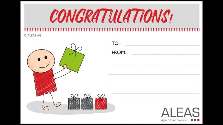 Kudo Card Congratulations